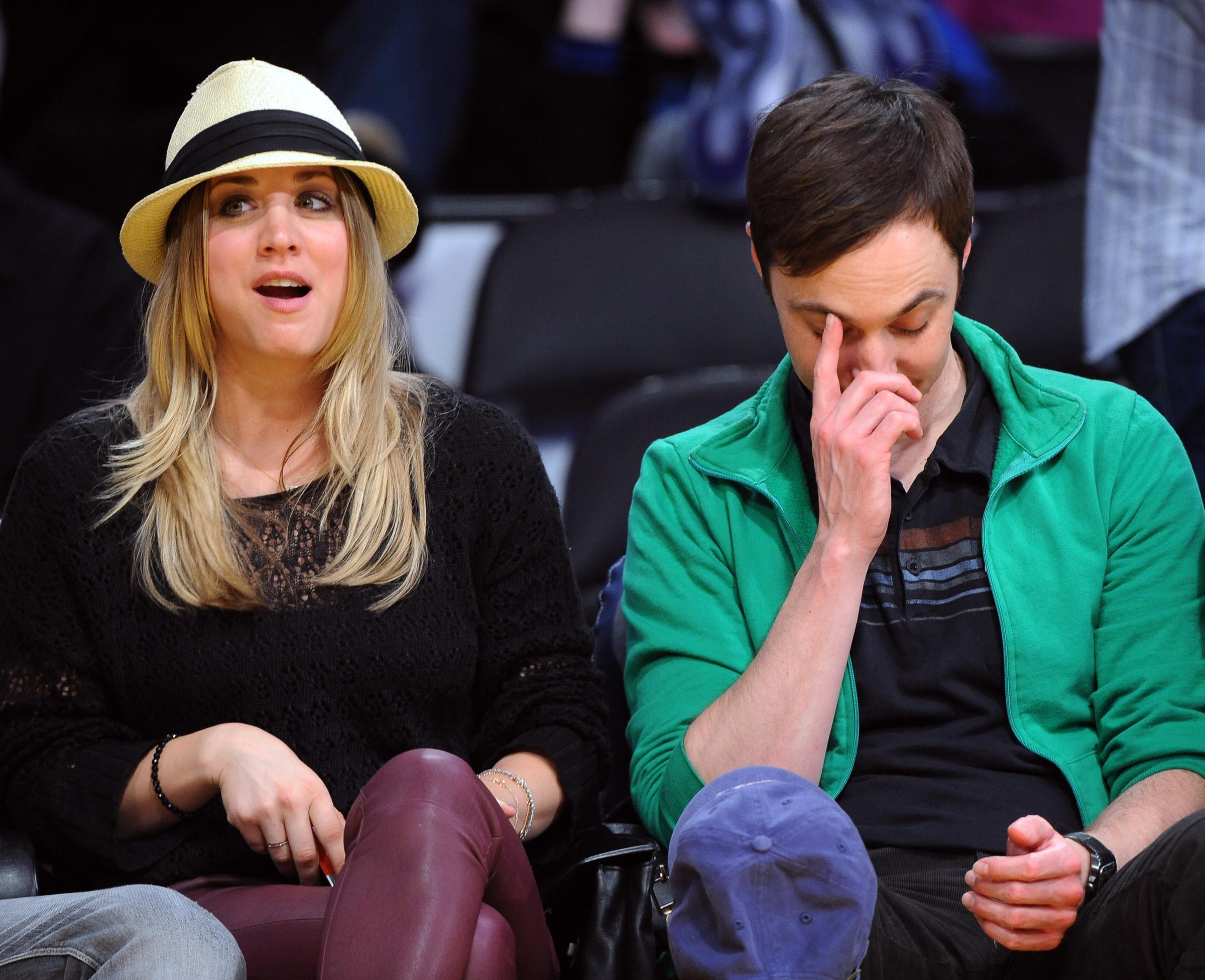 jim parsons kaley cuoco dating See cuoco's reaction to the news, as another report says the end is all jim parsons' fault the big bang theory is officially coming to an end after its upcoming twelfth season and kaley cuoco .