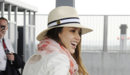 Jessica Alba – Arriving at the Heathrow airport – May 30 2012