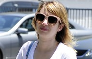 Emma Roberts – IOut and About in Beverly Hills – July 3, 2012