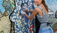 "Maria Menounos – ""Do Something"" celebrity volunteer event in New York – July 10, 2012"