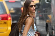 Sofia Vergara – Out and About in NYC – July 23, 2012