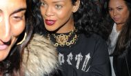 Rihanna – Leaving Nozomi Restaurant in London – August 30, 2012