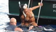Rihanna – Bikini Shots –Italy
