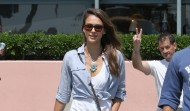 Jessica Alba – Out and About in Santa Monica – August 17, 2012