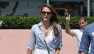 Jessica Alba – Out and About in Santa Monica – August 17,2012
