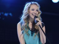 Bridgit Mendler – performance candids in Toronto – August 26, 2012