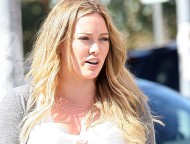 Hilary Duff – out and about candids in Hollywood – August 27,2012