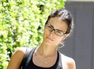 Jordana Brewster – Out and About after leaving a gym in LA – August 14, 2012