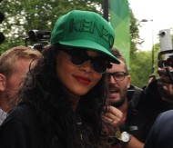 Rihanna – Leaving a Hotel in London – August 28, 2012