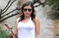 Sophia Bush – Out and About – July 10, 2012