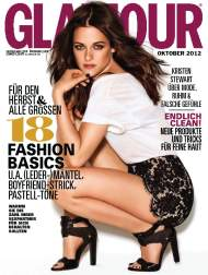 Kristen Stewart – Glamour Magazine Germany – October issue 2012