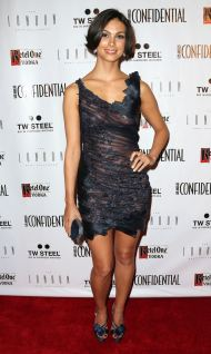 Morena Baccarin – See through dress