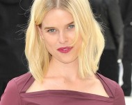 Alice Eve – Burberry Prorsum fashion show in London – September 17, 2012