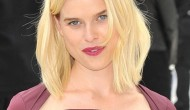 Alice Eve – Burberry Prorsum fashion show in London – September 17,2012