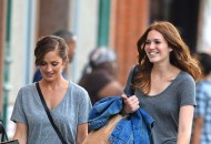 Minka Kelly and Mandy Moore – Shopping in NYC
