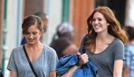 Minka Kelly and Mandy Moore – Shopping inNYC