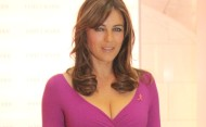 Elizabeth Hurley – Estee Lauder Breast Cancer Awareness campaign – October 11th, 2012