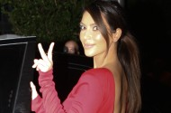 Kim Kardashian – out and about at night in Miami – October 3rd, 2012